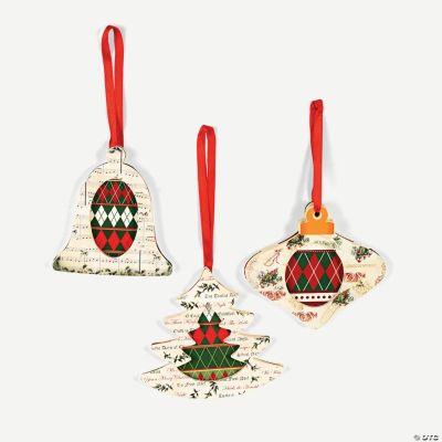 Christmas Carol Ornaments