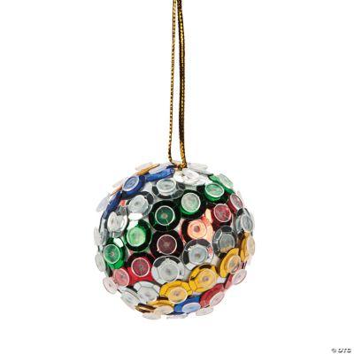 Sequin Ball Christmas Ornament Craft Kit