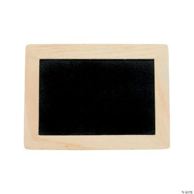 diy unfinished wood chalkboards