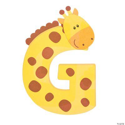 g is for giraffes
