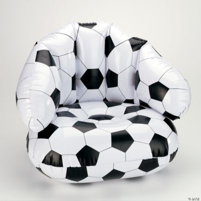 Inflatable Soccer Ball Chair  Oriental Trading  Discontinued