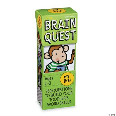Brainquest Brainteasers & Puzzles Fun Facts - Mindware