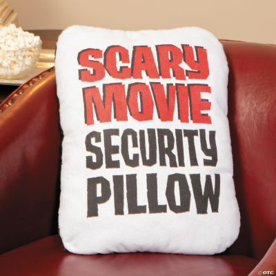 Scary Movie Security Pillow  Oriental Trading