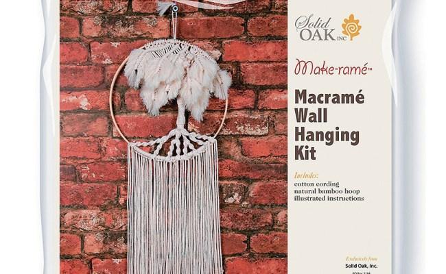 Diy Macrame Wall Hanging Kit Palm Tree Oriental Trading