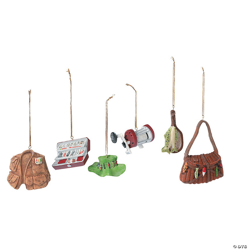 Fishing Christmas Ornaments