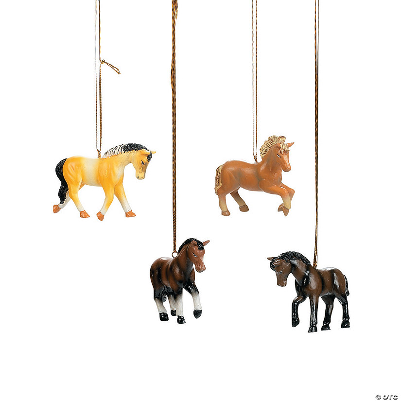 Christmas Ornaments Horses