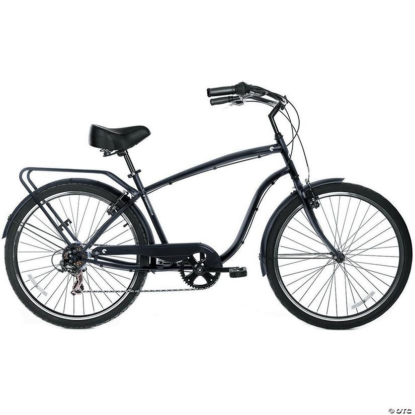 Men's 7-Speed Avenue Hybrid Commuter Bike: Stealth