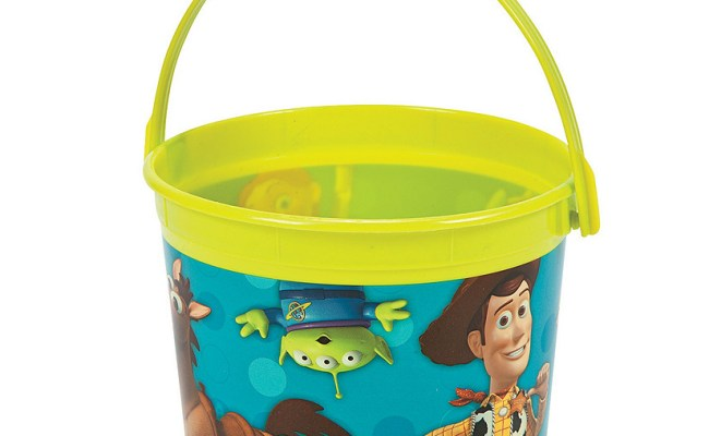 Toy Story 3 Bucket Discontinued