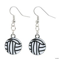 Volleyball Earrings Craft Kit