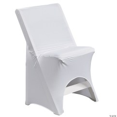 Metal Chair Covers Wedding And Ottoman Slipcovers Set Discontinued