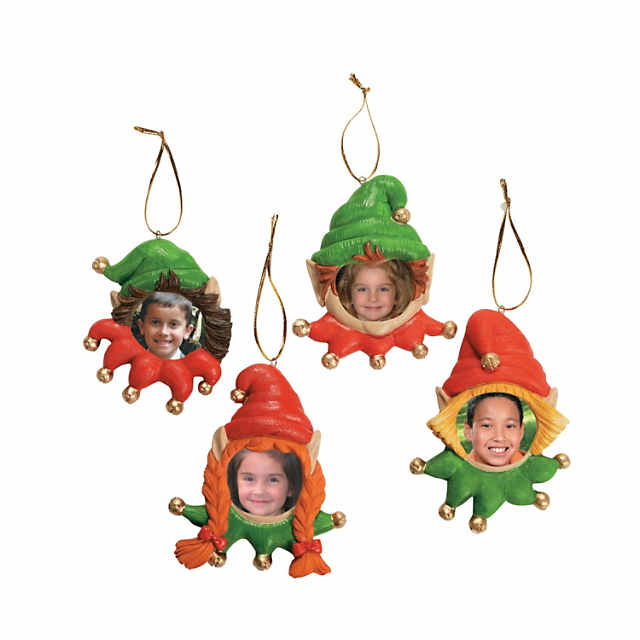 Elf Picture Frame Christmas Ornaments Discontinued