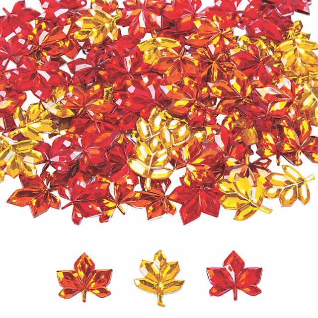 Fall Leaf Jewels Oriental Trading