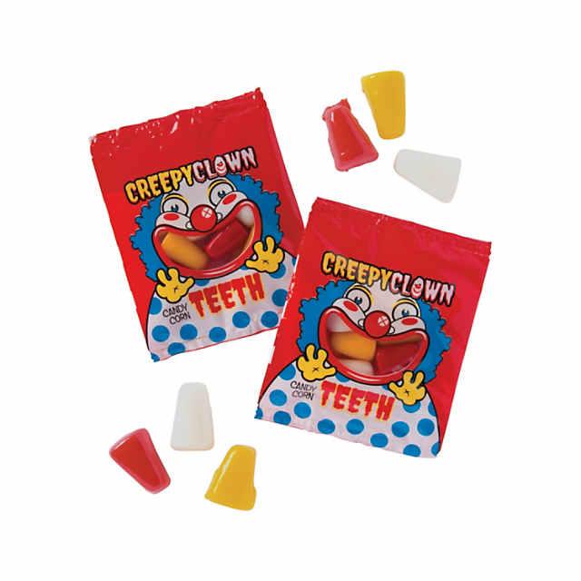 halloween clown candy corn