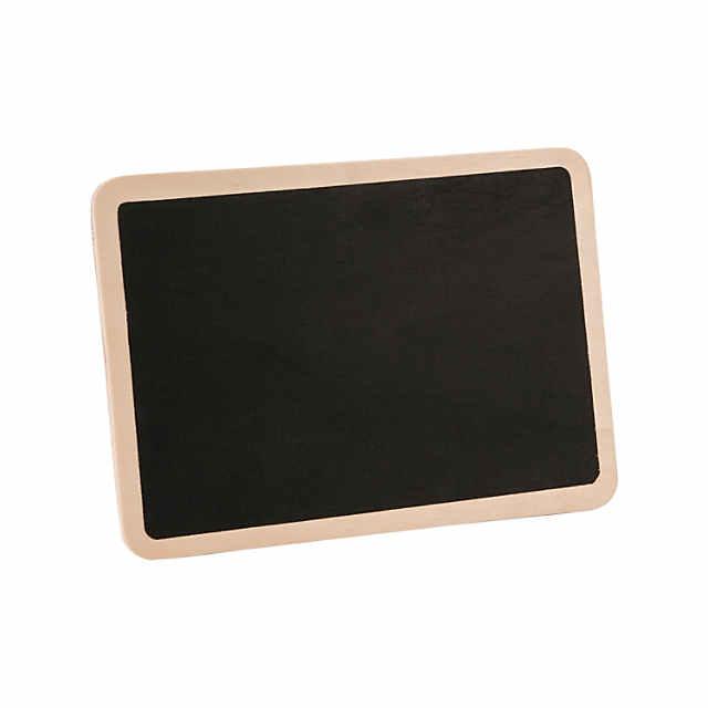unfinished wood chalkboards
