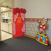 Carnival Door Decoration Idea