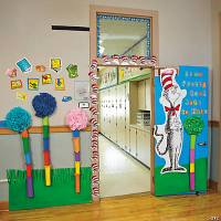 dr seuss door decorations