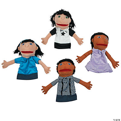 happy kids plush hand
