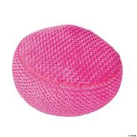 Inflatable Pink Plush Chair - Oriental Trading - Discontinued