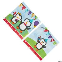 Penguin Party Luncheon Napkins - Oriental Trading ...