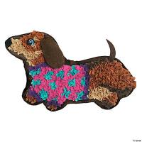 Plush Craft: Weiner Dog Pillow