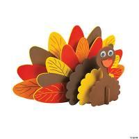 Standing Turkey Craft Kit - Oriental Trading