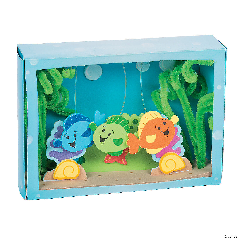 Aquarium Box Craft Kit Oriental Trading