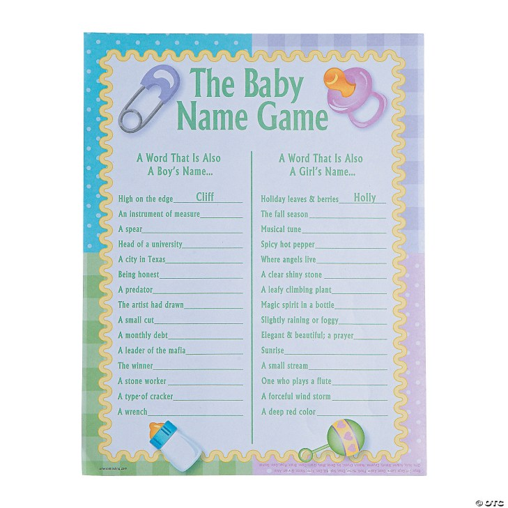 baby-names-baby-shower-game