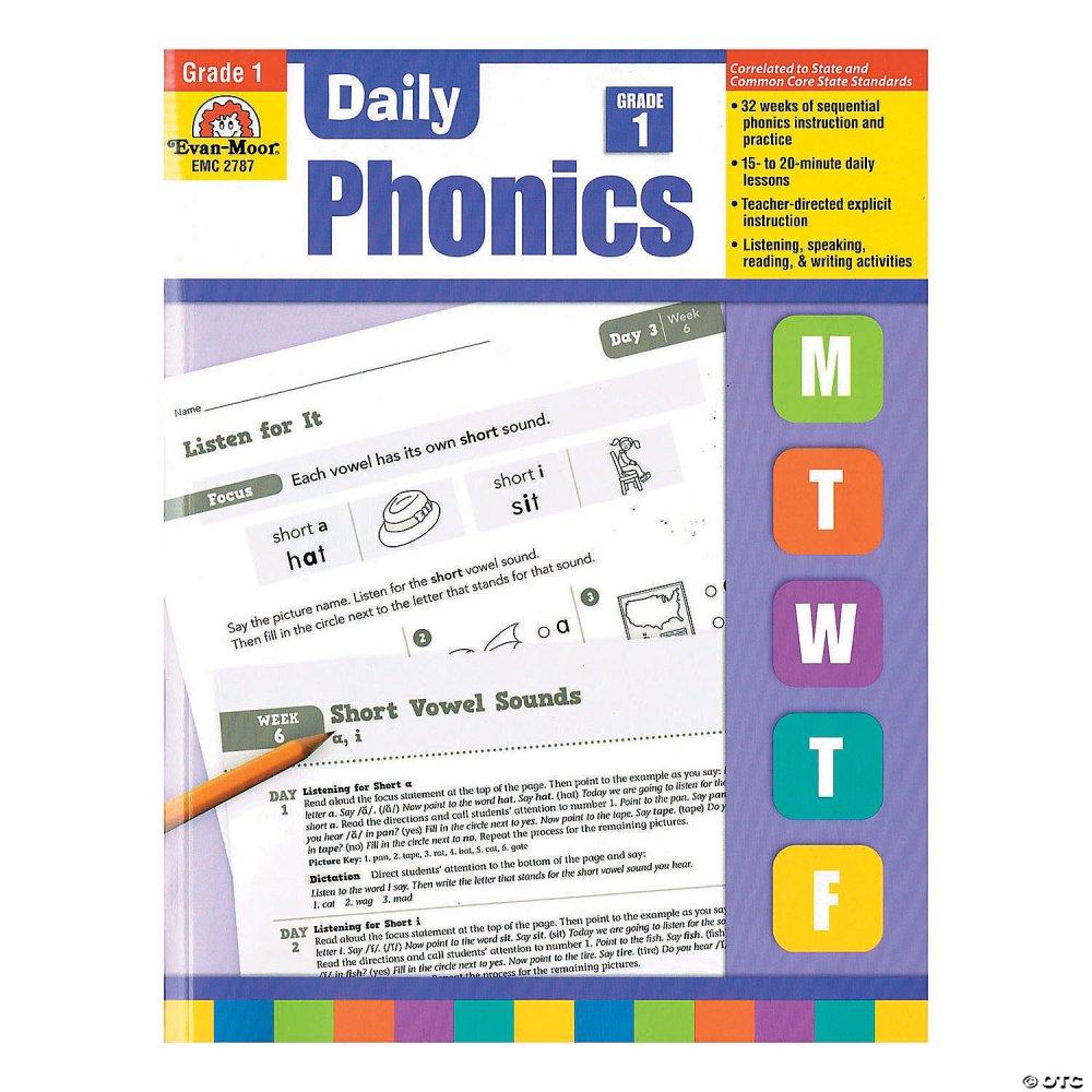 medium resolution of Daily Phonics Book - Teacher's Edition