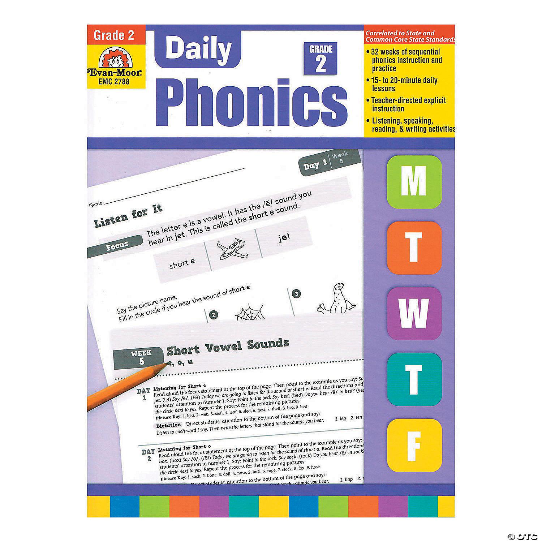 hight resolution of Daily Phonics Book - Teacher's Edition