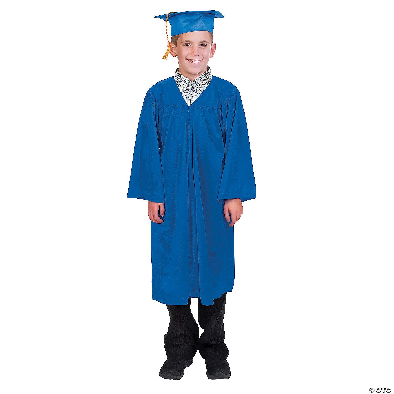 elementary graduation cap gown