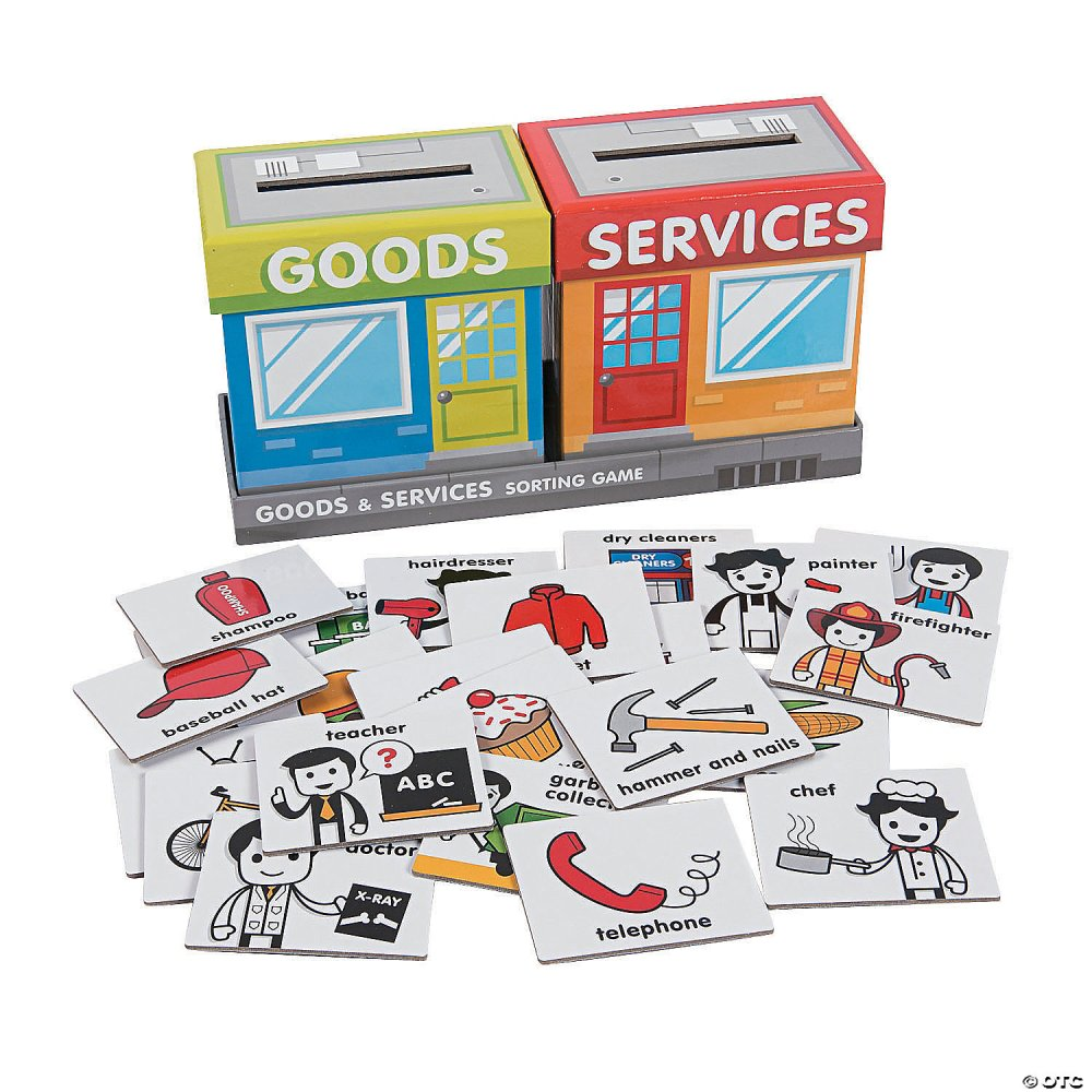 medium resolution of Goods \u0026 Services Sorting Game - Discontinued