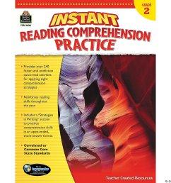 Instant Reading Comprehension Practice: Grade 2 - Discontinued [ 1500 x 1500 Pixel ]