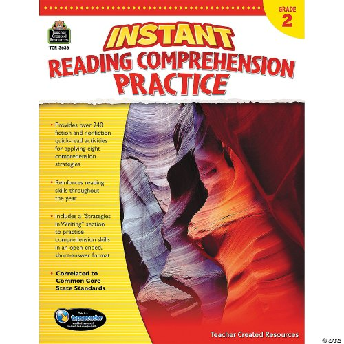 small resolution of Instant Reading Comprehension Practice: Grade 2 - Discontinued