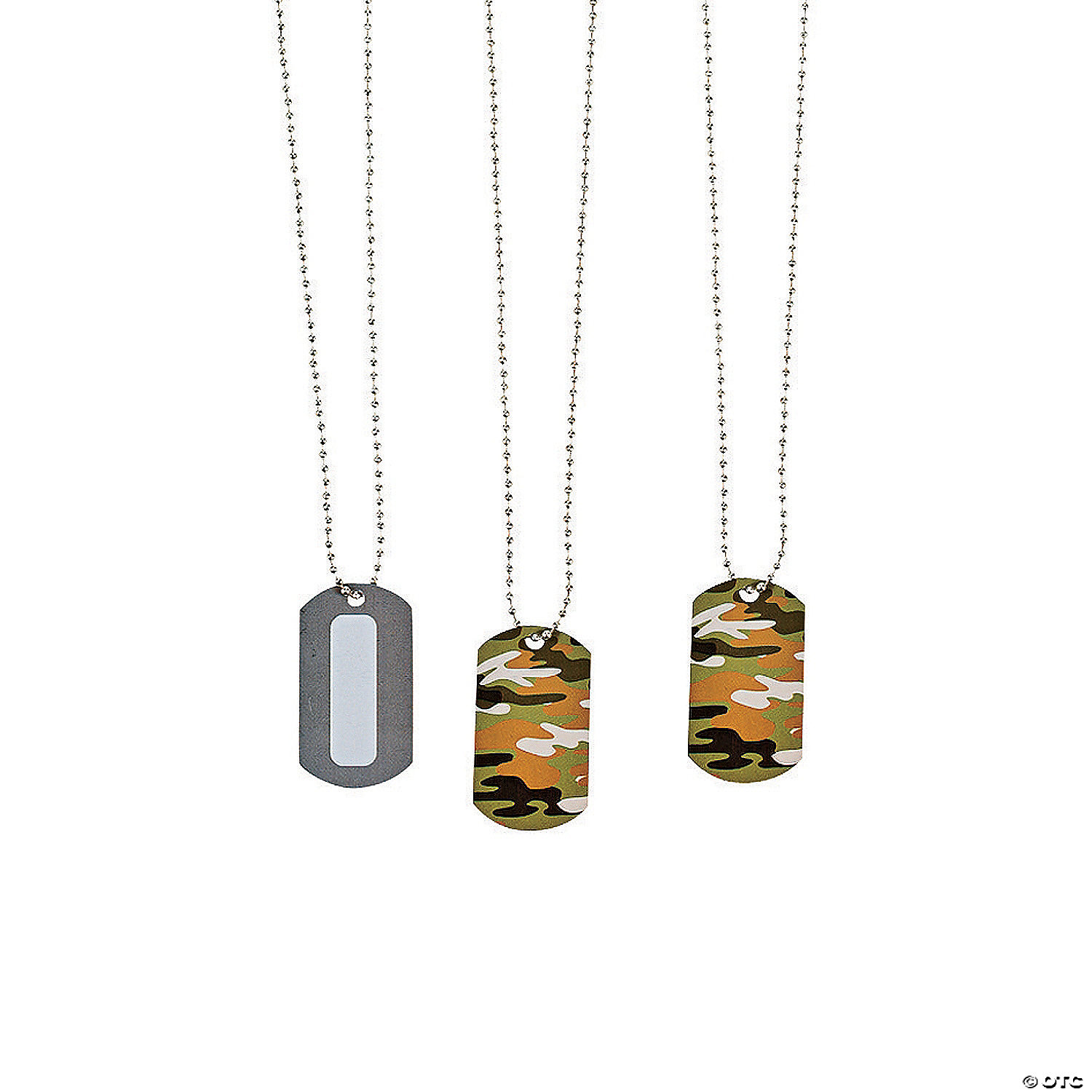 personalized camouflage dog tag
