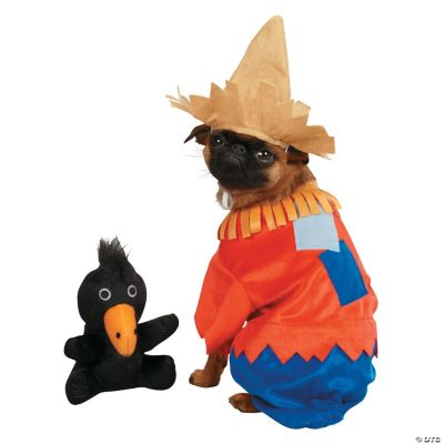 Scarecrow Extra Large Dog Costume, Pet Costumes, Halloween
