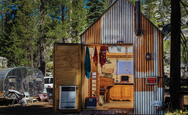 Mtn Life Design Mike Basich S Tiny House On Wheels
