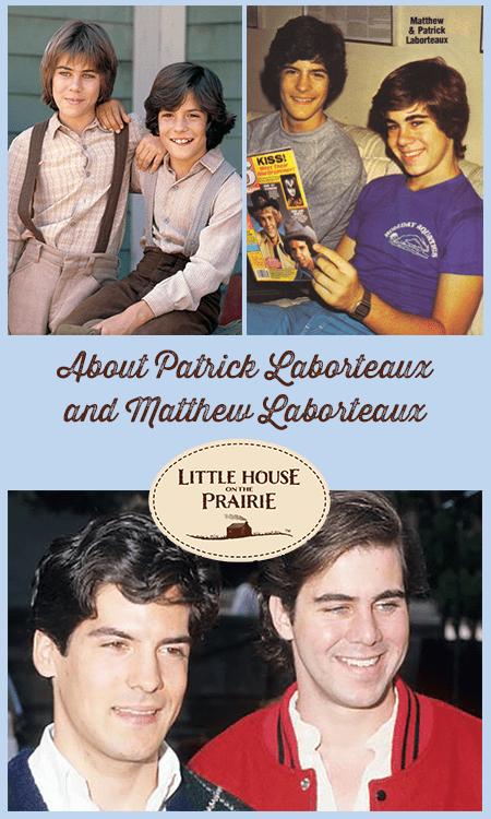 Matthew Laborteaux Now : matthew, laborteaux, About, Patrick, Laborteaux, Matthew, Little, House, Prairie