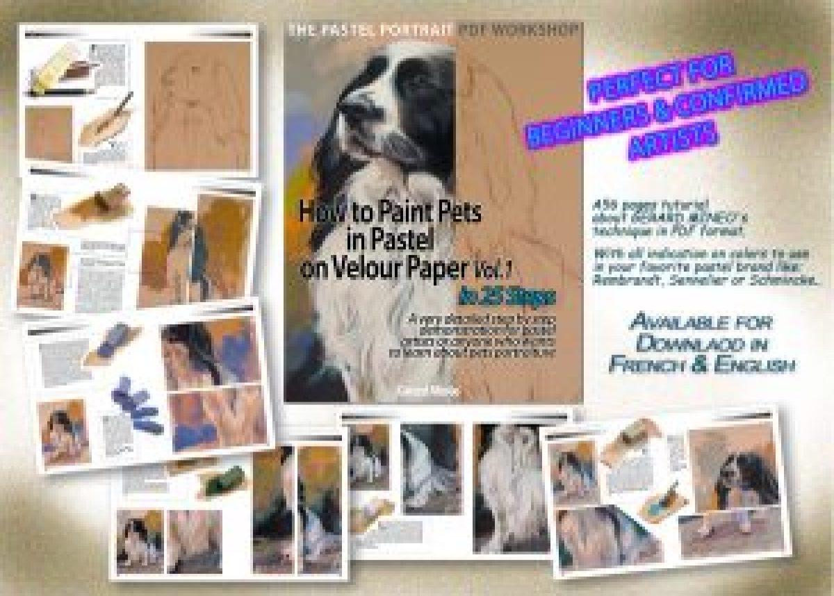 Cocker Pastel portrait pdf