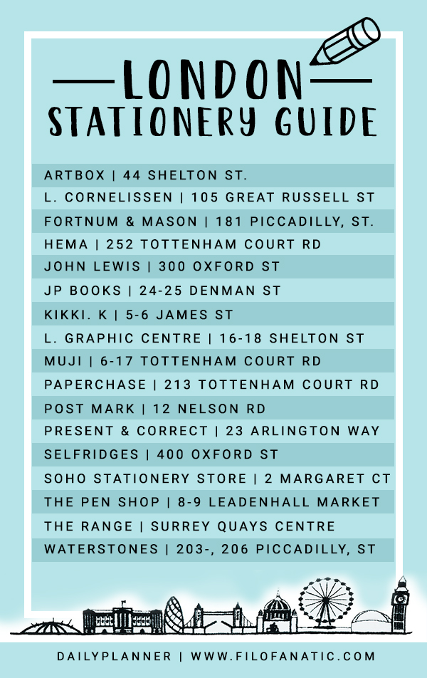 London_Stationery_Guide_list