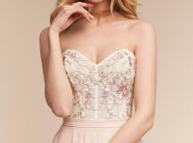 Wythe Corset Top & Amora Skirt in Bride | BHLDN
