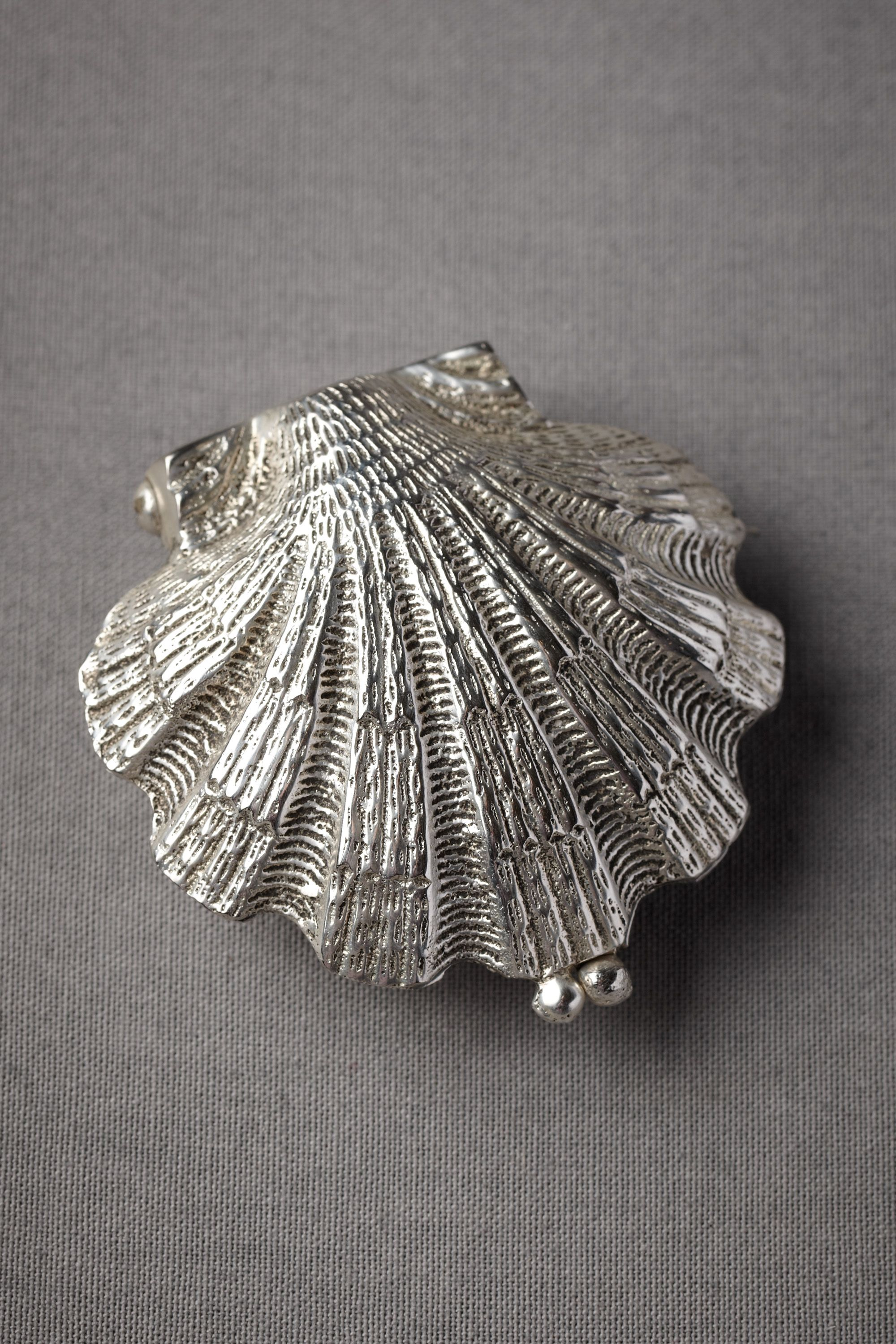 Silvery Seashell Ring Holder In Décor & Gifts  Bhldn