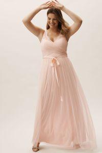 Fleur Dress Blush in Bridesmaids & Bridal Party | BHLDN