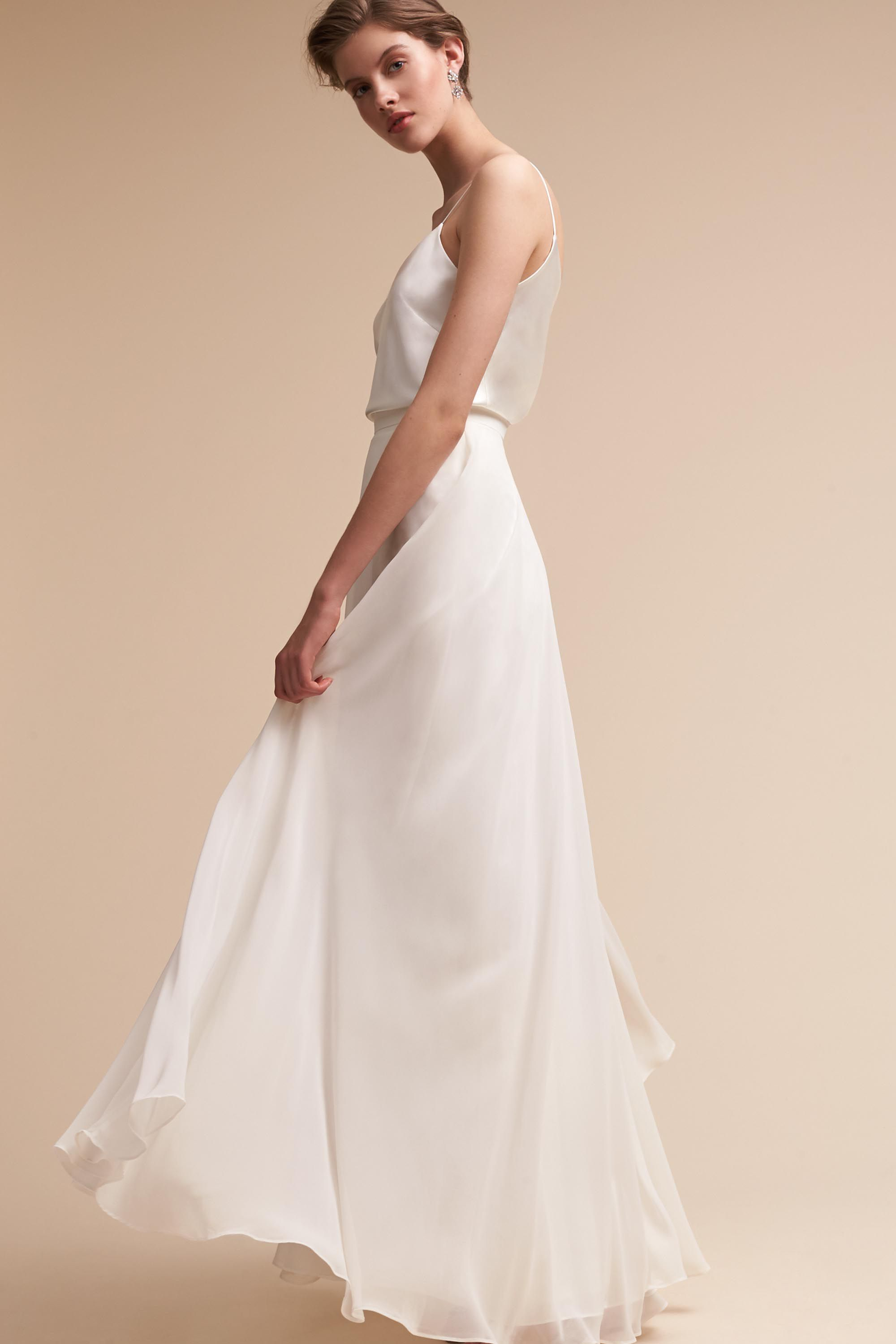 Hampton Skirt Winter White In Bridesmaids Amp Bridal Party