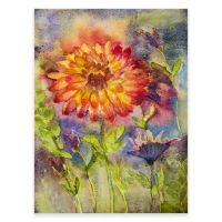 Buy Zinnia Outdoor All-Weather Canvas Wall Art from Bed ...