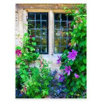 Cottage Charm Outdoor All-Weather Canvas Wall Art - Bed ...