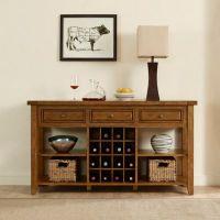 Buy Crosley Furniture Sienna Wine Cabinet in Moroccan Pine ...