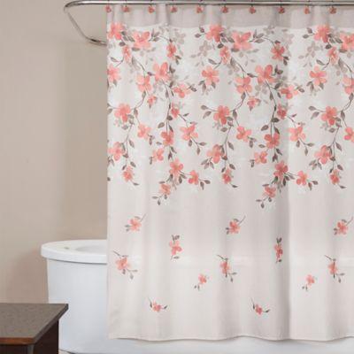 Saturday Knight Coral Garden Shower Curtain Bed Bath Amp Beyond