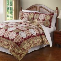 Easy Living Quilt Set in Red - Bed Bath & Beyond