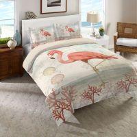 Kids Bedding Sets > Laural Home Coastal Flamingo Twin ...