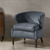 Madison Park Lucca Barrel Accent Chair - Bed Bath & Beyond